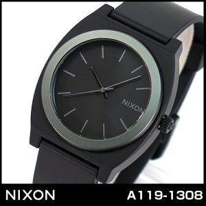 NIXON ニクソン A119-1308 A1191308 海外モデル TIME TELLER P タイムテラー メンズ レディース 腕時計 男女兼用 ユニセックス 黒 ブラック ミッドナイト ANO|tokeiten