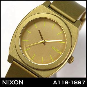 ニクソン NIXON タイムテラーP A1191897 A119-1897 メタリックゴールド 腕時計 ユニセックス メンズ レディース|tokeiten