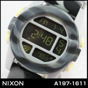NIXON THE UNIT ニクソン ユニットマーブル A197-1611 A1971611 ブラックスモーク 男女兼用 メンズ 腕時計 ウォッチ デジタル カジュアル|tokeiten