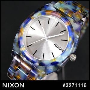 ニクソン NIXON タイムテラー 腕時計 メンズ レディース A3271116 A327-1116 アセテート ウォーターカラー|tokeiten