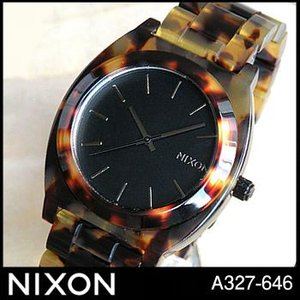 NIXON タイムテラー ニクソン A327646 A327-646 トートイズ アセテート|tokeiten