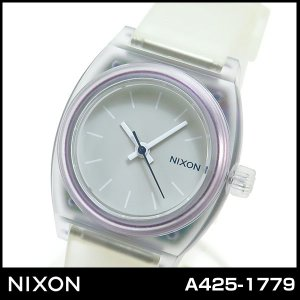 ニクソン NIXON スモールタイムテラー A4251779 A425-1779 クリア 腕時計 ユニセックス レディース|tokeiten
