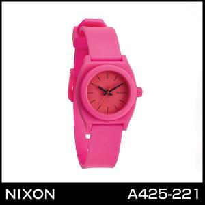 ニクソン NIXON スモール タイムテラー 腕時計 レディース A425-221 A425221 ホットピンク|tokeiten
