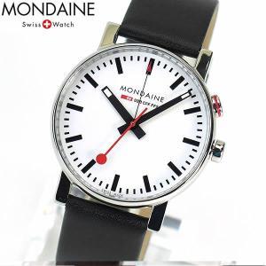 MONDAINE モンディーン スイス国鉄鉄道時計 メンズ 腕時計 A4683035211SBB A468.30352.11SBB 並行輸入品 tokeiten