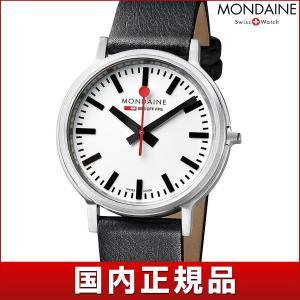 ポイント最大26倍 MONDAINE モンディーン A512.30358.16SBB stop2go ステップ・トゥ・ゴー メンズ 男性用 腕時計 黒 ブラック 白 ホワイト 赤 レッド tokeiten