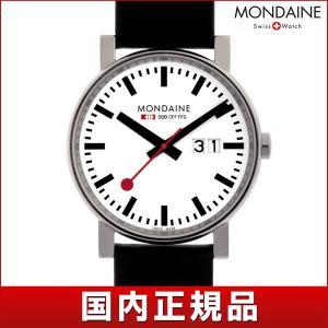 ポイント最大26倍 MONDAINE モンディーン A627.30303.11SBB 国内正規品 Evo エヴォ ビッグデイト メンズ 男性用 腕時計 黒 ブラック ホワイト 赤 レッド tokeiten