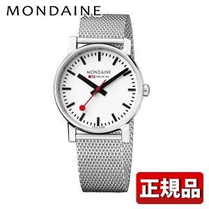 ポイント最大26倍 MONDAINE モンディーン A658.30300.11SBV 国内正規品 Evo エヴォ メンズ 男性用 腕時計 白 ホワイト シルバー tokeiten
