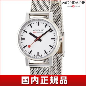ポイント最大26倍 MONDAINE モンディーン A658.30301.11SBV 国内正規品 Evo エヴォ レディース 女性用 腕時計 白 ホワイト シルバー tokeiten