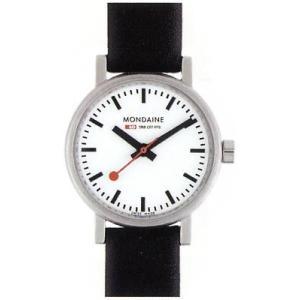 ポイント最大26倍 MONDAINE Evo モンディーン エヴォ A658.30301.11SBB レディース 腕時計 時計 黒 ブラック スイス国鉄鉄道時計 国内正規品 tokeiten