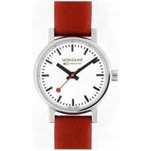 ポイント最大26倍 MONDAINE Evo モンディーン エヴォ A658.30301.11SBC 赤 レッド レディース 腕時計 時計 国内正規品 tokeiten
