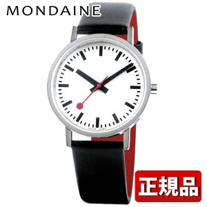 ポイント最大26倍 MONDAINE モンディーン A660-30314-16OM CLASSIC PURE クラシック ピュア メンズ 男性用 腕時計 黒 ブラック 白 ホワイト 赤 レッド tokeiten