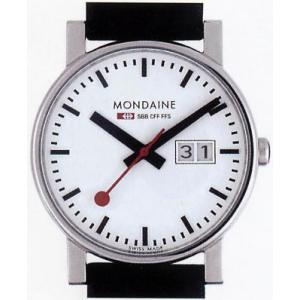 ポイント最大26倍 MONDAINE Evo BigDate モンディーン エヴォ ビックデイトA669.30300.11SBB メンズ 腕時計 ブラック 黒 スイス国鉄鉄道時計 国内正規品 tokeiten