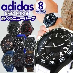adidas アディダス NEWBURGH ニューバーグ メンズ 腕時計 黒 ブラック 白 ホワイト 赤 レッド 青 ブルー ADH2963 ADH2965 ADH3082 ADH3112|tokeiten