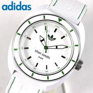 アディダス adidas originals スタンスミス stan smith 白 緑 ホワイト× グリーン メンズ 腕時計 防水 海外モデル ADH2931|tokeiten