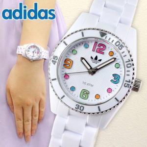 腕時計 アディダス adidas 腕時計 ADH2941 BRISBANE mini ホワイト ブリスベン 腕時計 レディース キッズ