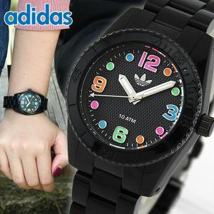 腕時計 アディダス adidas 腕時計 ADH2943 BRISBANE mini 黒 ブラック ブリスベン 腕時計 防水 レディース キッズ|tokeiten