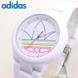 adidas アディダス originals オリジナルス ABERDEEN アバディーン 白 ホワイト メンズ レディース 腕時計 男女兼用 ADH3015|tokeiten
