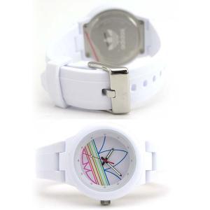 adidas アディダス originals オリジナルス ABERDEEN アバディーン 白 ホワイト メンズ レディース 腕時計 男女兼用 ADH3015|tokeiten|06