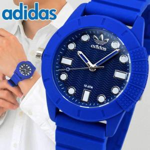 アディダス adidas 腕時計 SUPER STAR スーパースター 青 ブルー メンズ 腕時計 時計 ADH3103 海外モデル アナログ tokeiten