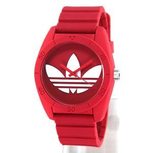 ポイント10倍 アディダス adidas サンティアゴ SANTIAGO 赤 レッド メンズ レディース 腕時計 ADH6168|tokeiten|03