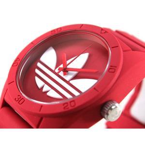 ポイント10倍 アディダス adidas サンティアゴ SANTIAGO 赤 レッド メンズ レディース 腕時計 ADH6168|tokeiten|04