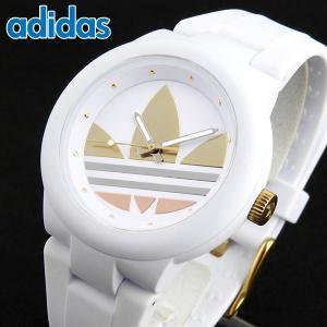 adidas アディダス ADH9083 海外モデル ABERDEEN アバディーン レディース 腕時計 ユニセックス 白 ホワイト ゴールド シルバー ピンクゴールド|tokeiten