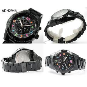 adidas アディダス ADH2946 ADH2943 ペアウォッチ ブランド メンズ レディース 腕時計 黒 ブラック マルチカラー 秋 コーデ 誕生日 ギフト|tokeiten|03