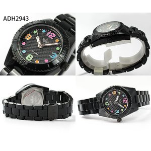 adidas アディダス ADH2946 ADH2943 ペアウォッチ ブランド メンズ レディース 腕時計 黒 ブラック マルチカラー 秋 コーデ 誕生日 ギフト|tokeiten|04