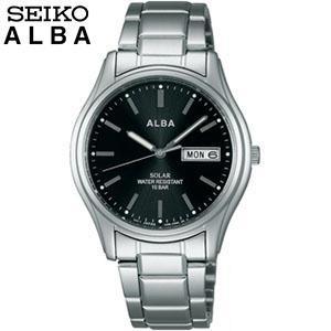 ポイント最大24倍 レビュー7年保証 SEIKO セイコー ALBA アルバ AEFD540 国内正規品 メンズ 腕時計 メタル バンド ソーラー|tokeiten