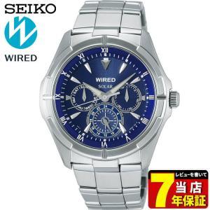 ポイント最大26倍 7年保証 セイコー ワイアード 腕時計 SEIKO WIRED NEW STANDARD ニュースタンダード メンズ ソーラー AGAD033 国内正規品|tokeiten