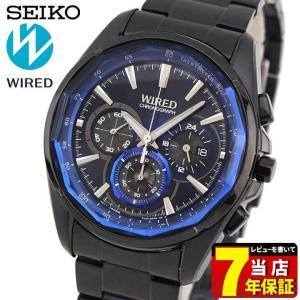 22日から最大42倍 7年保証 セイコー ワイアード 腕時計 SEIKO WIRED クロノグラフ REFLECTION リフレクション AGAV102 アナログ メンズ 国内正規品 tokeiten