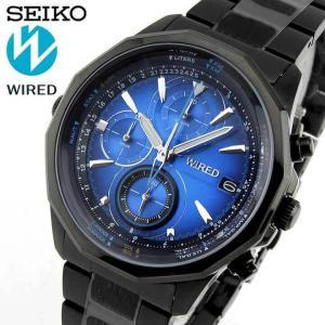 ポイント最大26倍 7年保証セイコー ワイアード 腕時計 SEIKO WIRED THE BLUE ザ・ブルー クロノグラフ AGAW421 国内正規品|tokeiten