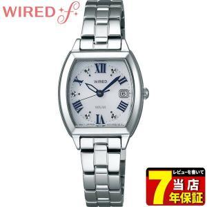 25日から最大31倍 レビュー7年保証 SEIKO セイコー WIREDf ワイアードエフ ソーラー AGED075 国内正規品 レディース 腕時計|tokeiten