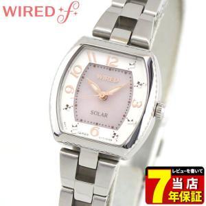 ポイント最大35倍 SEIKO セイコー WIREDf ワイアードエフ ソーラー AGED088 国内正規品 レディース 腕時計 ピンク 銀 シルバー メタル バンド|tokeiten