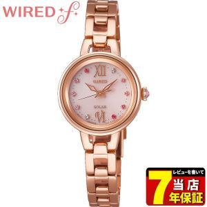 WIREDf ワイアードf SEIKO セイコー ソーラー AGED093 ソーラーコレクション  レディース 腕時計 国内正規品 ピンクゴールド メタル tokeiten