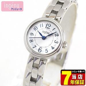 ポイント最大27倍 7年保証 SEIKO セイコー ALBA アルバ ingenu アンジェーヌ AHJK439 国内正規品 レディース 腕時計 ホワイト シルバー メタル バンド tokeiten
