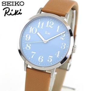 レビュー7年保証 セイコー アルバ リキ 腕時計 SEIKO ALBA Riki スタンダード AKPK428 メンズ 国内正規品 アナログ ウォッチ ブラウン ブルー 革ベルト レザー|tokeiten