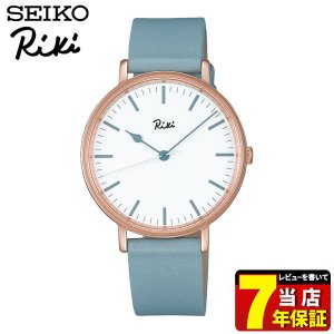 ポイント最大23倍 Riki リキ ALBA アルバ SEIKO セイコー AKPK429 メンズ 腕時計 ペアウオッチ 国内正規品 ホワイト ブルー 革ベルト レザー tokeiten