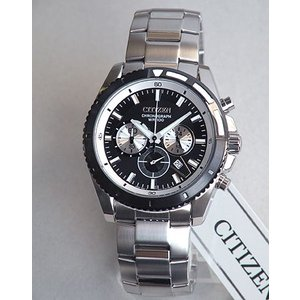 ポイント最大26倍 シチズン CITIZEN 海外モデル 腕時計 メンズ クロノグラフ AN8011-52E|tokeiten