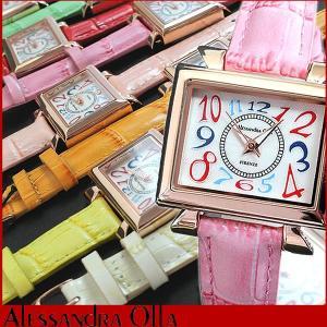 腕時計 レディース アレサンドラオーラ 腕時計 レディース アレッサンドラオーラ AO-2550PG 母の日 ギフト|tokeiten