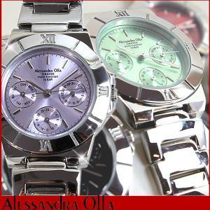 22日から最大42倍 腕時計 レディース アレサンドラオーラ 腕時計 レディース アレッサンドラオーラ マルチファンクション AO-900 母の日 ギフト|tokeiten