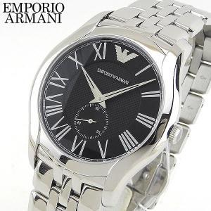 本体訳あり EMPORIO ARMANI エンポリオアルマーニ メンズ 男性用 腕時計 時計 watch ウォッチ 黒 ブラック 銀 シルバー AR1706 海外モデル tokeiten