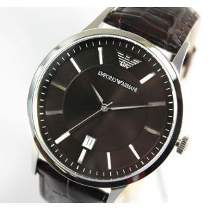 エンポリオアルマーニ EMPORIO ARMANI 腕時計 メンズ AR2413 ブラウン tokeiten