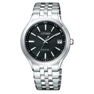 シチズン エクシード CITIZEN EXCEED 電波 ソーラー 腕時計 メンズ AS7040-59E|tokeiten