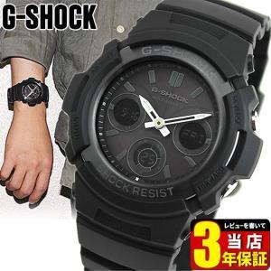 Gショック G-SHOCK ジーショック 電波ソーラー AWG-M100B-1A ジーショック 黒 G-SHOCK Gショック BASIC アナログ アナデジ 腕時計 ビジネス カジュアル 逆輸入|tokeiten