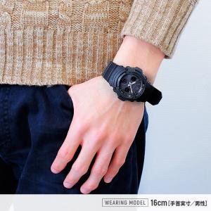 Gショック G-SHOCK ジーショック 電波ソーラー AWG-M100B-1A ジーショック 黒 G-SHOCK Gショック BASIC アナログ アナデジ 腕時計 ビジネス カジュアル 逆輸入|tokeiten|02