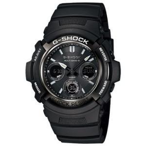 G-SHOCK Garish Black Gショック ジーショック 電波 ソーラー ガリッシュブラック AWG-M100BW-1AJF BASIC