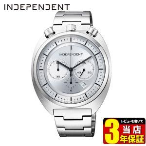 歩数計付 ポイント最大26倍 シチズン インディペンデント 時計 メンズ クロノグラフ 10気圧防水 カレンダー BA7-018-11 CITIZEN INDEPENDENT 国内正規品 腕時計|tokeiten