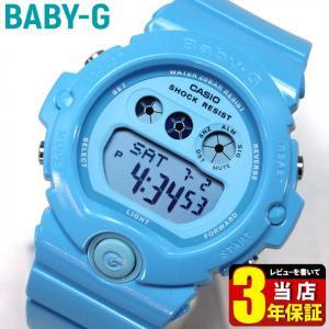 BOX訳あり レビュー3年保証 CASIO カシオ Baby-G ベビーG レディース 腕時計 BG-6902-2B ライトブルー Energetic Colors エナジェティック・カラーズ 海外モデル|tokeiten