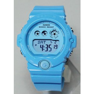 BOX訳あり レビュー3年保証 CASIO カシオ Baby-G ベビーG レディース 腕時計 BG-6902-2B ライトブルー Energetic Colors エナジェティック・カラーズ 海外モデル|tokeiten|02